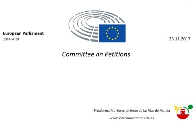 Comisión de Peticiones UE – 23N