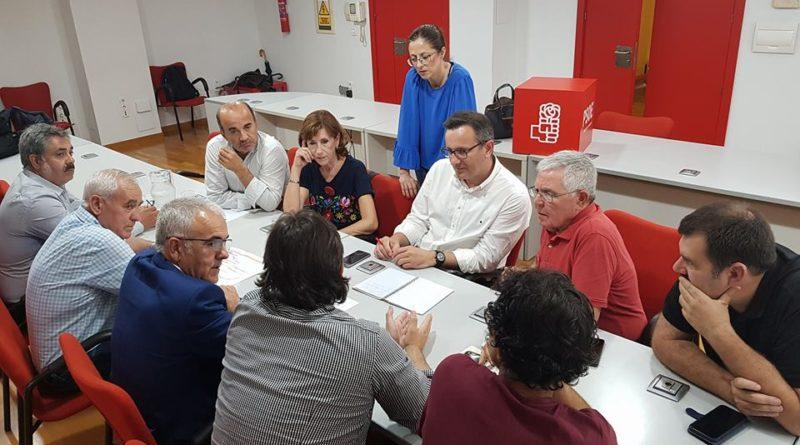 Fructífera reunión con el futuro Delegado del Gobierno y Secretario General del PSOE-RM